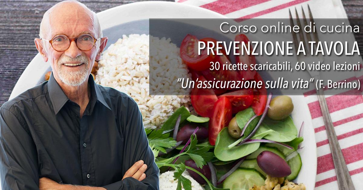 Corsi di prevenzione a tavola